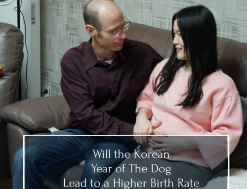 "The Korean ""Year Of The Dog"" may mean a higher birth rate"